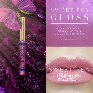LipSense Sweet Pea Gloss NEW/SEALED
